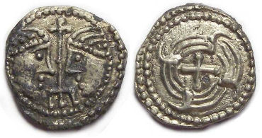 Britain, Anglo-Saxon, ca. AD 710 to 675. Secondary series sceattas.